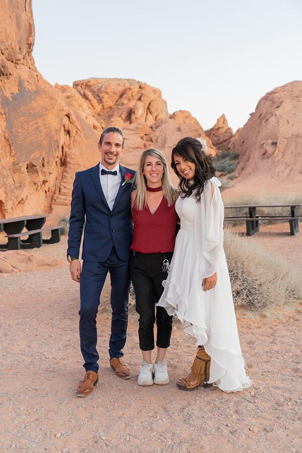 Coralie Wedding Planner Francophone à Las Vegas